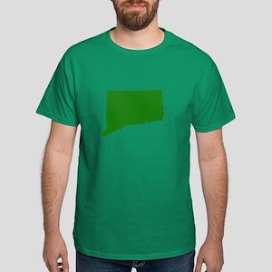 Green Connecticut Dark T-Shirt