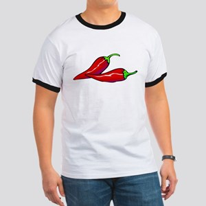 Red Hot Peppers Ringer T