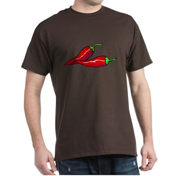 Red Hot Peppers Dark T-Shirt