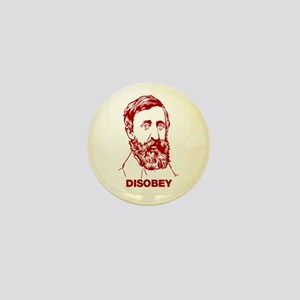 Thoreau Disobey Mini Button