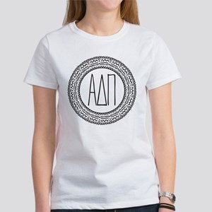 Alpha Delta Pi Medallion Women's Classic T-Shirt