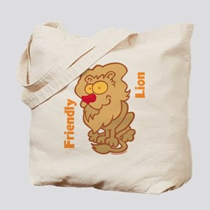 Lion Friend Tote Bag