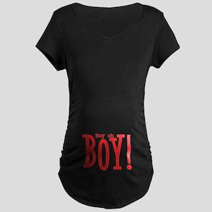 Boy oh boy Maternity Dark T-Shirt