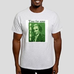Thomas Paine - Human Rights Q Ash Grey T-Shirt