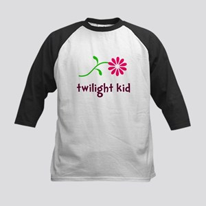 Flower TwiKid Kids Baseball Jersey