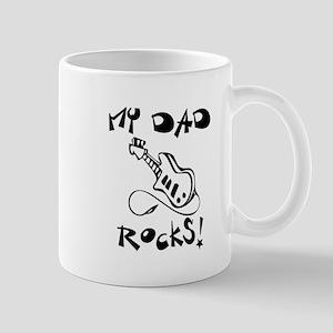 My Dad Rocks Guitar Mug
