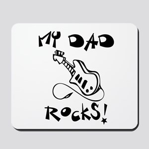 My Dad Rocks Guitar Mousepad