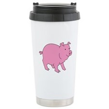Pig Stainless Steel Travel Mug