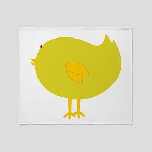 Silly Bird Throw Blanket