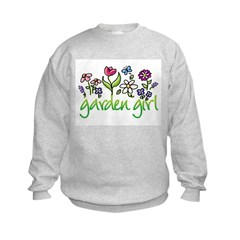 Garden Girl 2 Sweatshirt