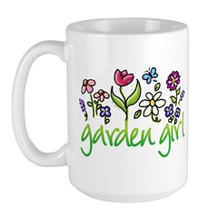 Garden Girl 2 Large Mug