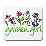 Garden Girl 2 Mousepad