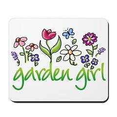 Garden Girl 2 Mousepad