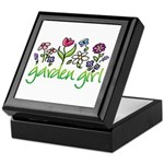 Garden Girl 2 Keepsake Box