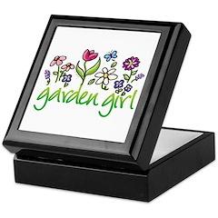 Garden Girl 2 Keepsake Box