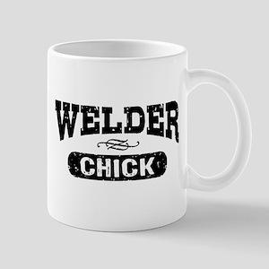 Welder Chick Mug