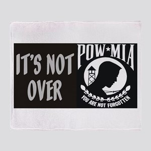 It's Not Over Throw Blanket