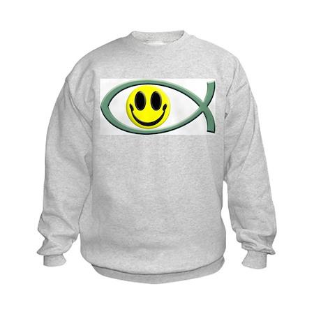 Jesus Is My Happiness Kids Sweatshirt