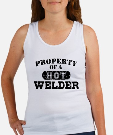Property of a Hot Welder Women's Tank Top