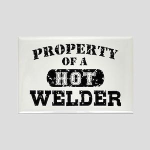 Property of a Hot Welder Rectangle Magnet