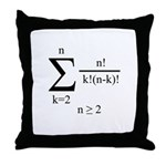 Poly Formula Throw Pillow