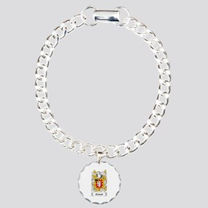 Garnett Charm Bracelet, One Charm