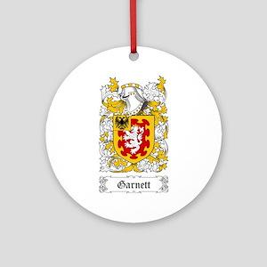 Garnett Ornament (Round)
