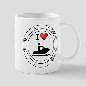 I Heart Waverunners Mug