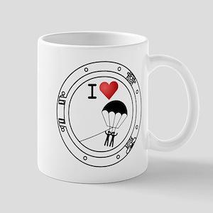I Heart Parasailing Mug