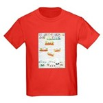 Kids Dark T-Shirt - Be On The Lookout For UFOs