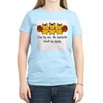 One by one, the squirrels Women's Light T-Shirt