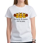One by one, the squirrels Women's T-Shirt