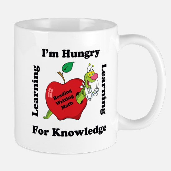 Hungry For Learning copy Mugs