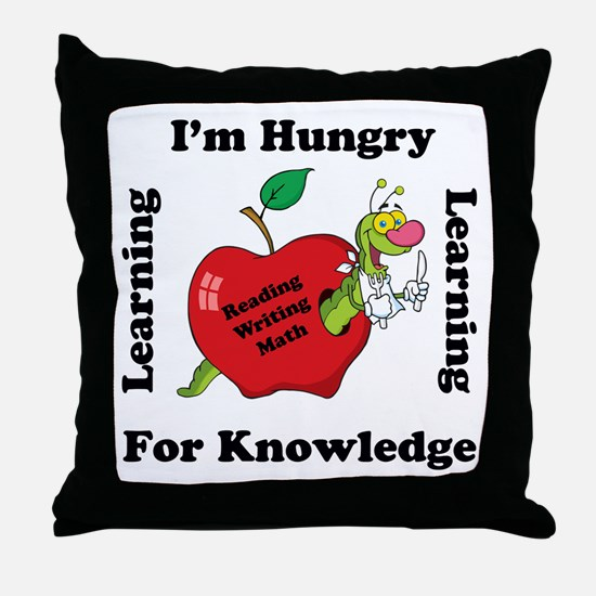 Cute School Throw Pillow