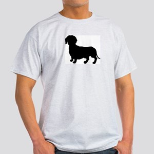 Dachshund Silhouette Light T-Shirt