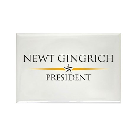 Newt Gingrich Rectangle Magnet
