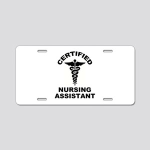 CNA's Aluminum License Plate