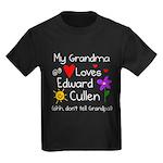Grandma Shh Kids Dark T-Shirt