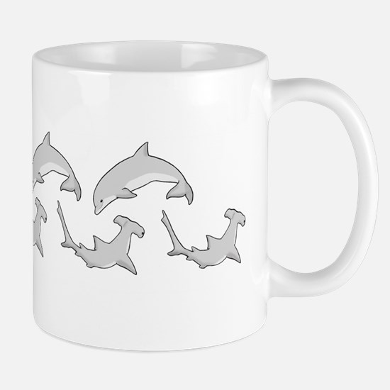 Shark & Dolphin Mug