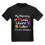 Mommy Shh Kids Dark T-Shirt
