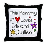 This Mommy Throw Pillow
