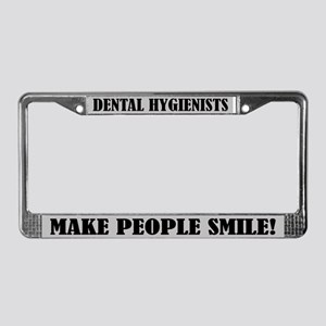 Dental Hygienist Quote License Frame