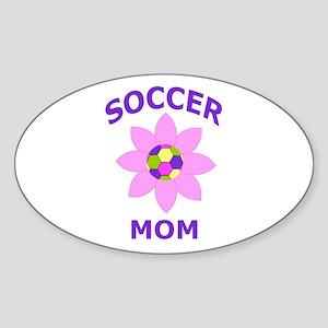 Soccer Mom Sticker (Oval)