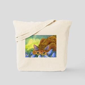 The harebell stalk Tote Bag