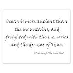 HPL: Ocean Small Poster