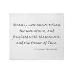HPL: Ocean Throw Blanket