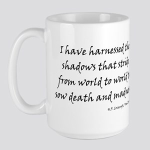 HPL: Shadows Large Mug