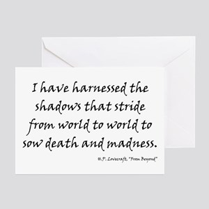 H p lovecraft greeting cards cafepress hpl shadows greeting cards pk of 20 m4hsunfo