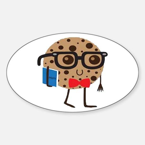 Cute Cookies Sticker (Oval 10 pk)
