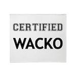 Certified Wacko Throw Blanket